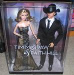 2011 Tim McGraw Faith Hill Country Singer Barbie Doll Pink Label Collector NRFB