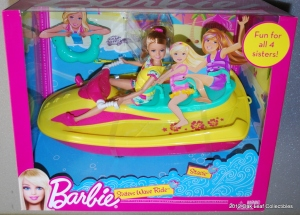 2012 Barbie Jet Ski with Stacie doll NRFB