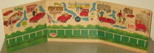 1962 Barbie Austin Healy Sports Car Box Liner ONLY