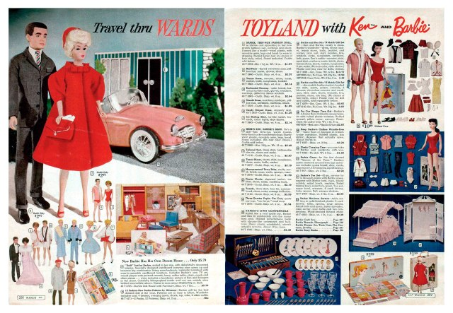 1962 Montgomery Ward Christmas catalogue