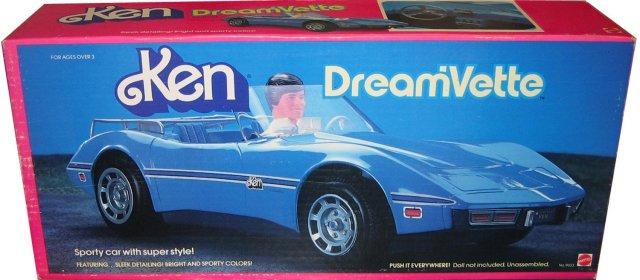 1984 #9033 Ken Dream'vette car