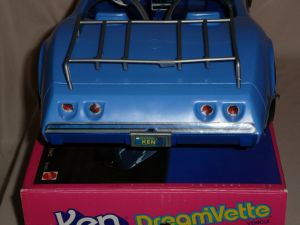 1984 Ken Dreamvette #9033 back