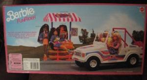 1990 #9435 BARBIE FUNRIDER CAR b