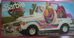 1990 #9435 BARBIE FUNRIDER CAR