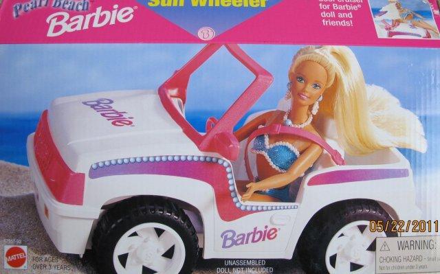 1997 Pearl Beach Barbie Sun Wheeler Vehicle