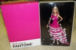 2011 BARBIE PINK IN PANTONE COLLECTOR BARBIE DOLL GOLD LABEL NRFB