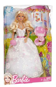 2012 Barbie Bride n