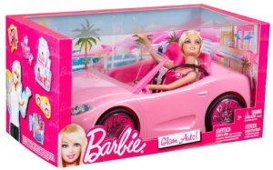 2012 Barbie Glam Convertible n