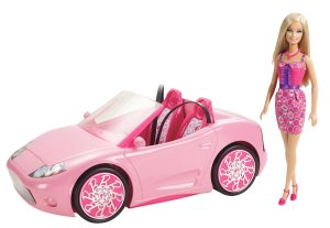 2012 Barbie Glam Convertible