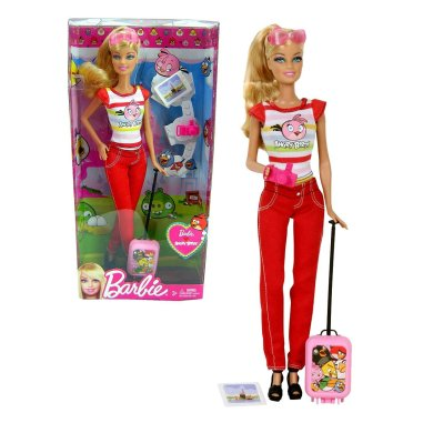 2012 Barbie Loves Angry Birds