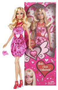 2012  I Love Valentines Doll