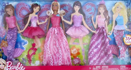 2012 Princess  Barbie Doll & Fashions