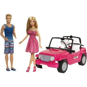 2015 BARBIE® Beach Cruiser™ + Barbie® & Ken® Dolls f