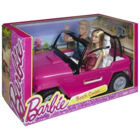 2015 BARBIE® Beach Cruiser™ + Barbie® & Ken® Dolls