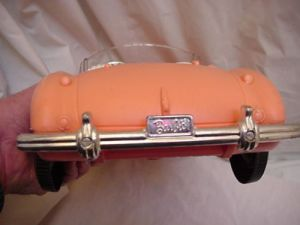 60's AUSTIN FIRST BARBIE CAR back