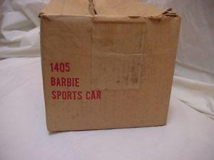 60's AUSTIN FIRST BARBIE CAR box side