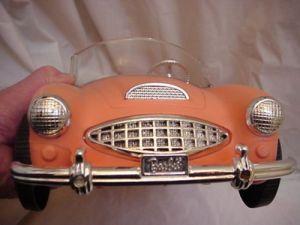 60's AUSTIN FIRST BARBIE CAR front