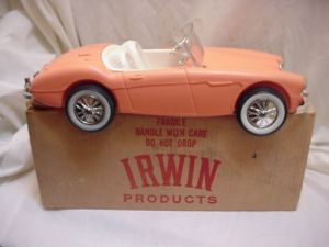 60's AUSTIN FIRST BARBIE CAR