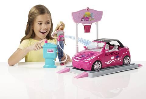 Barbie Car Wash Design Studio