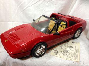 Barbie Ferrari scuderia car complete