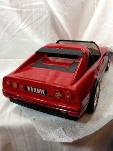 Barbie Ferrari scuderia car