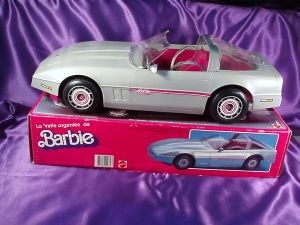 Barbie Silver vette mib