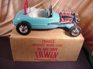KEN HOT ROD ROADSTER BY IRWIN NEW IN THE RAREST BOX