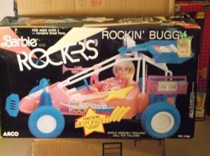 1986 BARBIE ROCKERS CAR DUNE BUGGY NRFB