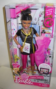 2012 #2854 Career of the Year I Can Be... Fashion Designer Barbie NRFB