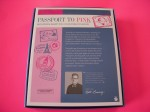 PASSPORT TO PINK BARBIE 2012 Nat'l Convention Gold Label- Ready to ship NRFB - back box