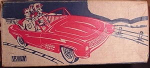 MERCEDES BARBIE CAR by IRWIN box