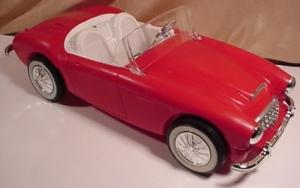 RED AUSTIN FIRST BARBIE CAR by IRWIN2
