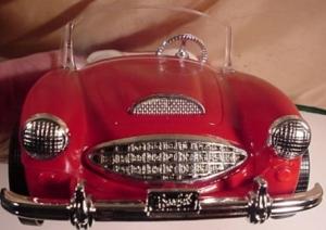 RED AUSTIN FIRST BARBIE CAR by IRWIN4