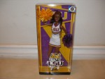 2012 NEW LOUISIANA STATE UNIVERSITY CHEERLEADER BARBIE DOLL NRFB