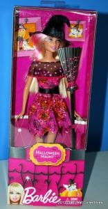 2012 Barbie Halloween Haunt Witch Doll nrfb