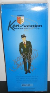 Ken Doll 1st Convention Kenvention 2012 #116/150 Signed Box by Angie Gill