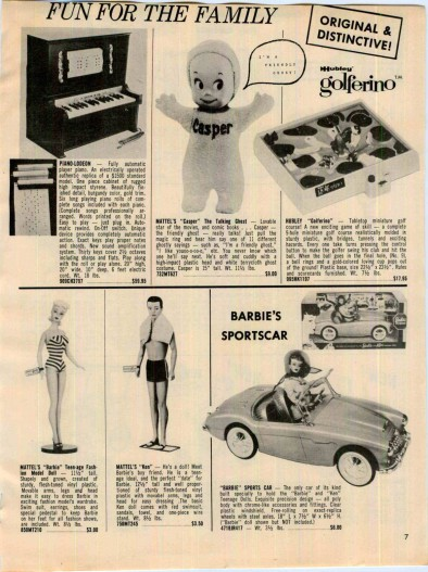 Great ads from a 1962 63 United publication.