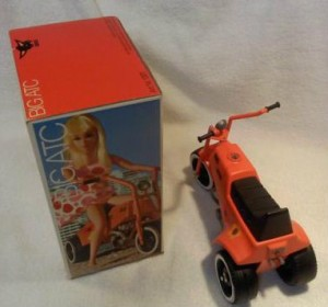 Side box Barbie from1971