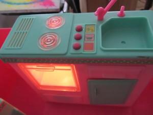 Light in oven