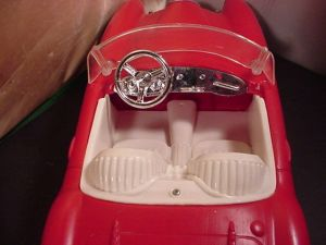 Top red car