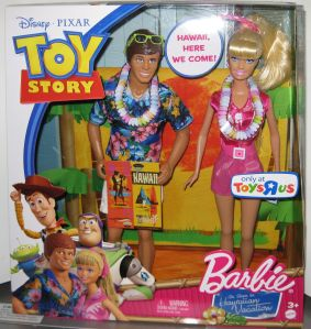 Toy Story Barbie and Ken Hawaiian Vacation Doll