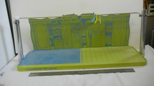 1963 Barbie Shelves Portable Home Display - variation color