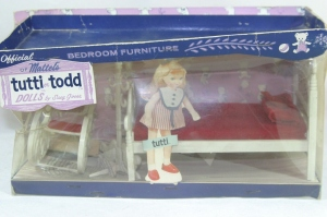 1965 Tutti Todd Dutch Bedroom furniture set by Suzy Goose NRFB