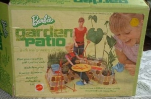 1972~Barbie~PATIO-GrowGarden~NRFB