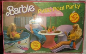1973 Barbie Patio Poll Party