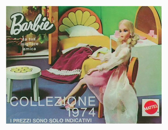 1974 Furniture from Italy - Ad Mattel Italy.
