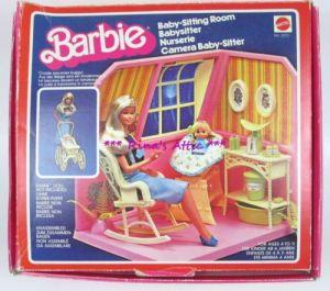 1977 Barbie Baby room
