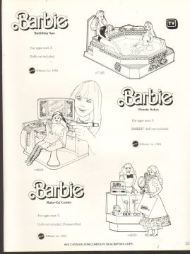1983 VINTAGE AD SHEET #1332- MATTEL
