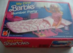 1984 Barbie slumber party