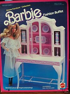 1984~Barbie~FashionBuffet~9479